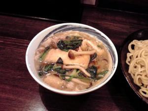 綿麺 フライデーナイト 豚しゃぶ塩つけ麺(つけだれ)
