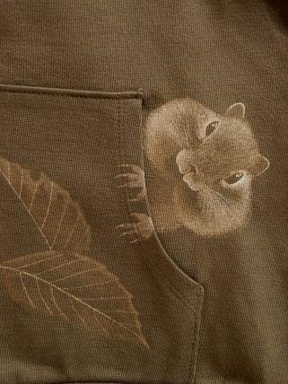 リス ジップジャケット 2011922