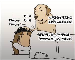 羊の国のラブラドール絵日記、髪はやめなよ・・・?3