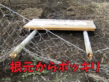農園の看板