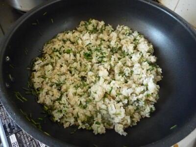 コシアブラの炒めご飯