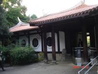 日本庭園内の旧御涼亭(台湾閣)