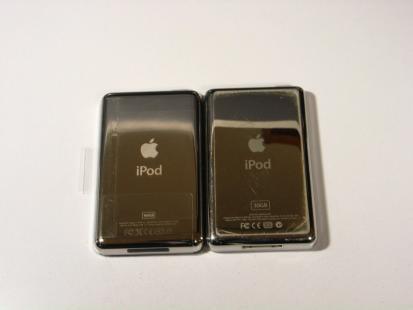 iPod classic 裏