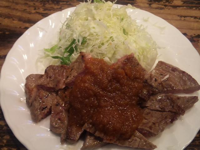 弁慶・網焼きステーキ
