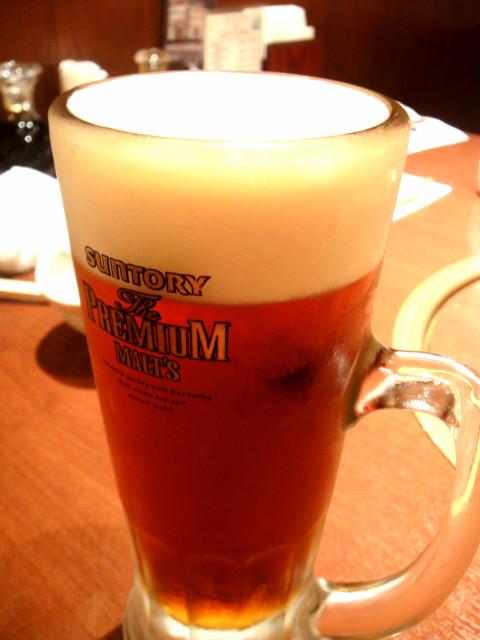 菅乃屋・ビール
