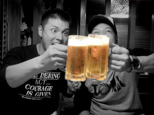 ビール強調