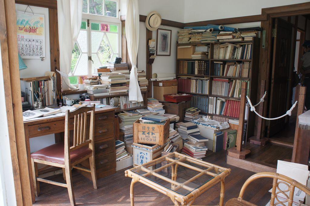サツキとメイの家・父の部屋