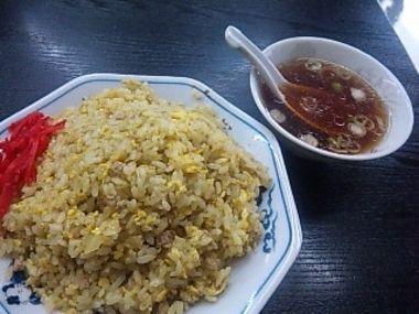 中華 久松・カレー焼き飯