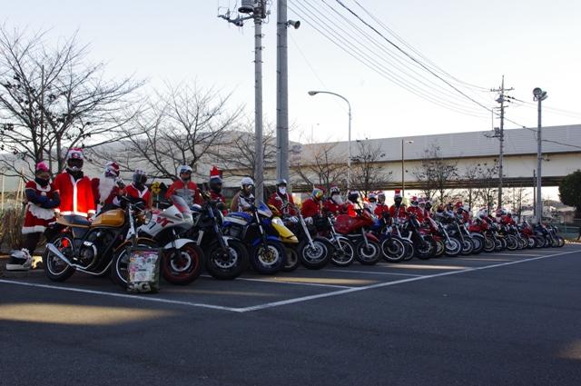 クリスマスツーリング and 奥武蔵GL