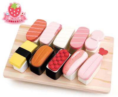 マザーグースの森 木製玩具 お寿司 おままごと