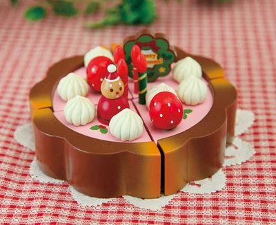 マザーガーデン マザーグースの森 木製玩具 クリスマス タルトケーキ