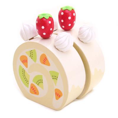 マザーガーデン マザーグースの森 木のおもちゃ フルーツロールケーキ