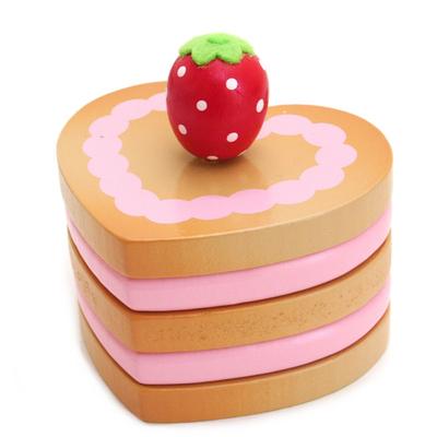 マザーガーデン マザーグースの森 木のおもちゃ イチゴハートパイ