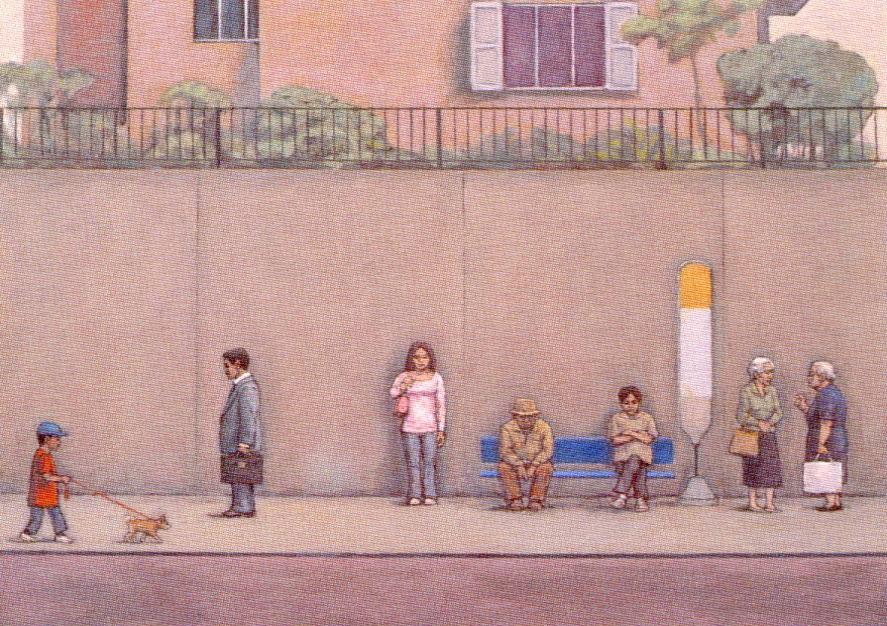 猫アリーナ 「-世界の街-相笠昌義展」 日本橋高島屋