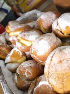 カスタード揚げパン