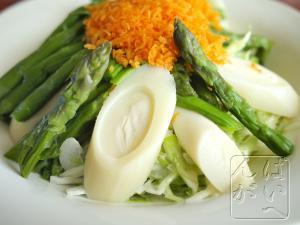 椰子の芯サラダ