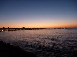 29may2010 地中海の夕暮れ