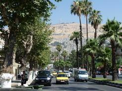 10jun2010 ダマスカス市街とカシオン山