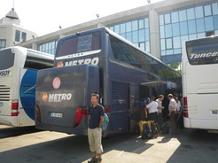 27jun2010 テッサロニキ行きのバス オトガルのターミナル