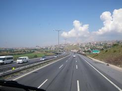 27jun2010 バスの車窓から トルコ側の風景