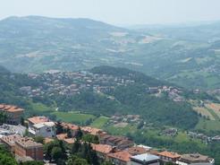 5jul2010 サンマリノの丘の上からの眺め