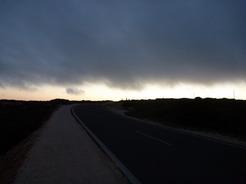 20jul2010 日没後 ヴィセンテ岬からの帰り道