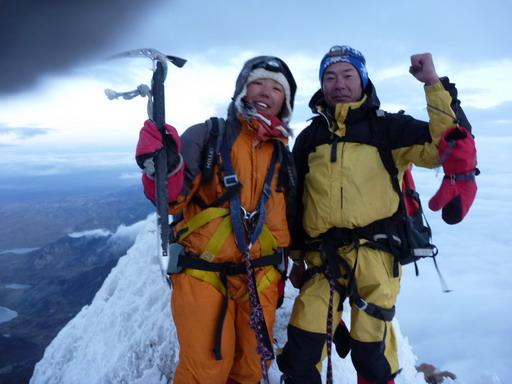 8oct2010 6:10 ワイナ・ポトシ登頂