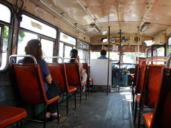 24oct2010 アスンシオンのターミナルへ向かうバスの中