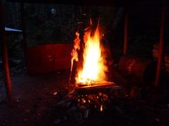 4dec2010 夕飯の鶏の丸焼き