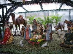 21dec2010 セバスチャン広場に特設されたクリスマス用の展示