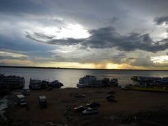 22dec2010 夕暮れのネグロ川