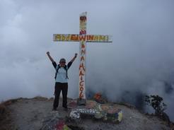 25feb2011 バルー火山登頂 一応パナマ最高峰