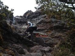25feb2011 最後の50mだけ岩っぽい