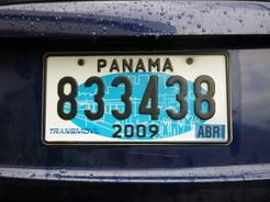 28feb2011 パナマのナンバー