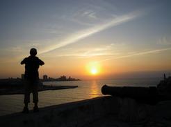 1apr2011 カバーニャ要塞の夕暮れ