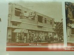 3apr2011 博物館にあったホテル・レックスの写真