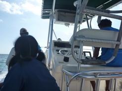 17jun2011 プンタ・サムからボートでポイントへ