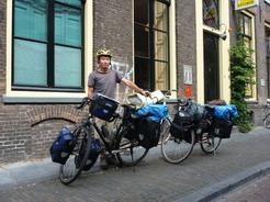 7jul2011 ユトレヒトから自転車旅のスタート