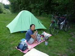 10jul2011 ドイツ初日の野営地