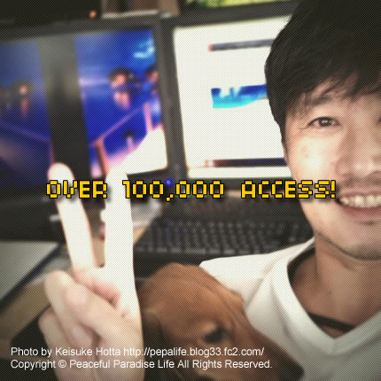 OVER 100000 ACCESS!