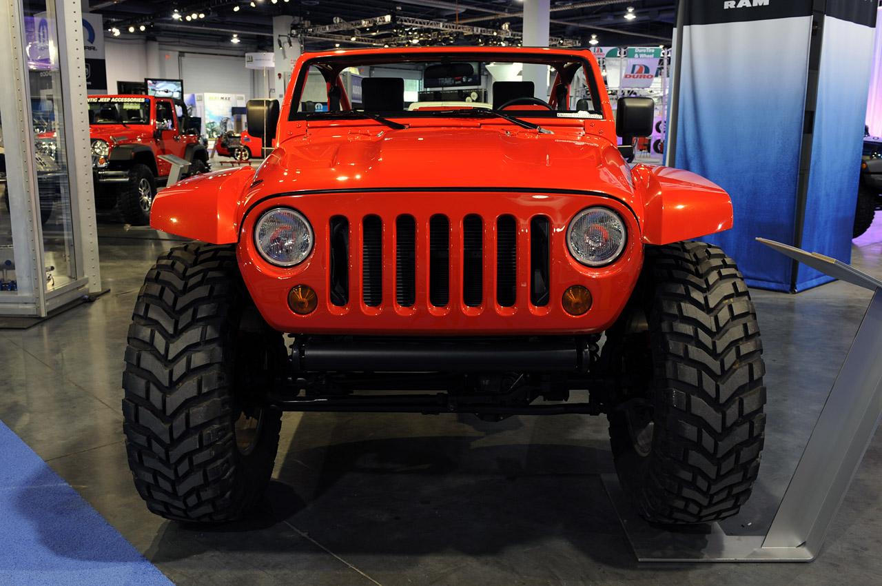 Phantom of the Creator SEMA 2009 Jeep Lower Forty