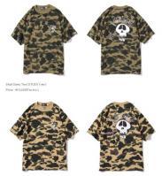 STUSSY Skull Camo Tシャツ