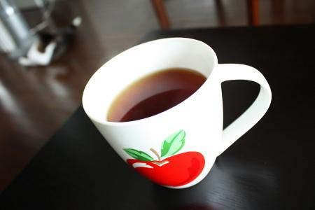 アツアツの紅茶