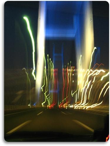 Baybridge in the dark