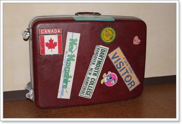 思い出のスーツケース