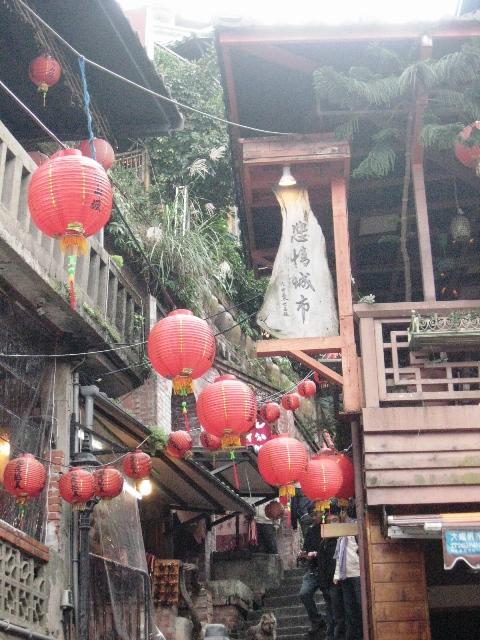 台湾日記【9】九イ分  阿妹茶楼