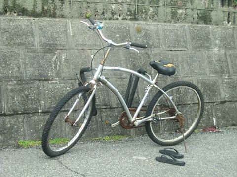 さて何用の自転車でしょう?