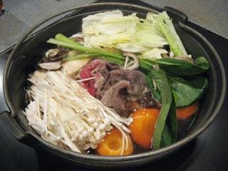 低カロリーすき焼き(^_^;)