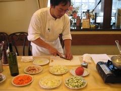 トラットリア ルポお料理教室