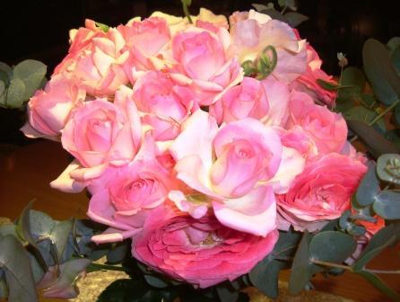 バラ色の春が~♪